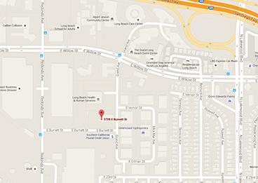 Long Beach Campus Map