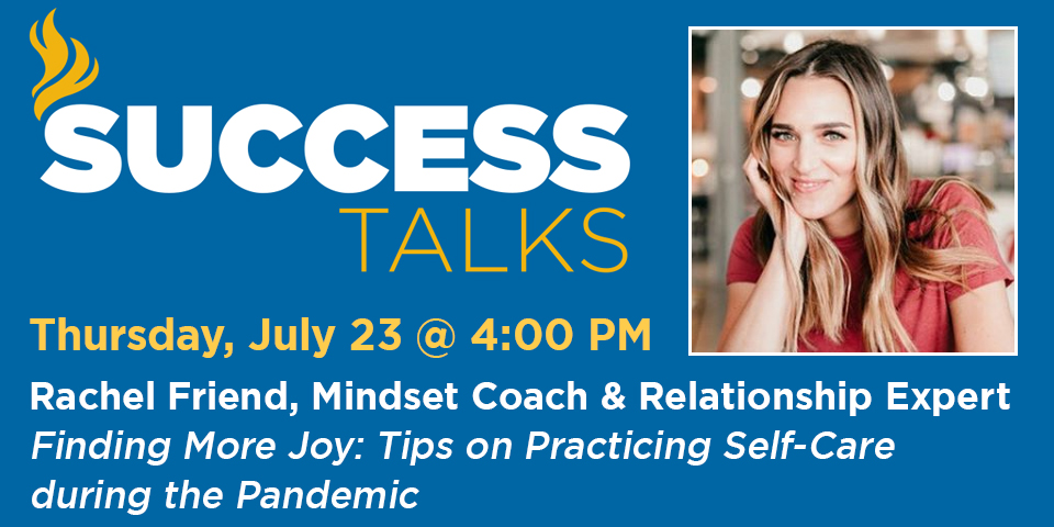 SUCCESS Talk with Rachel Friend